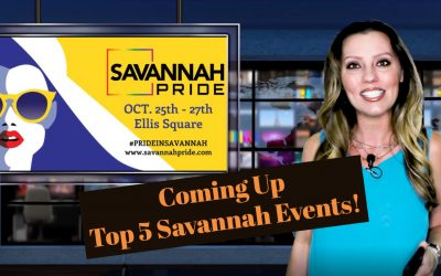Top 5 Savannah Events for the Week of 10.22.18