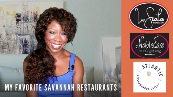 My Top Savannah Restaurants