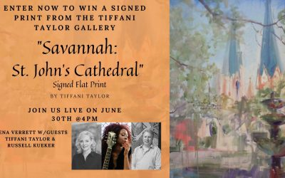 Who's Who What's What… Savannah St.John's Cathedral Signed Flat Print Giveaway